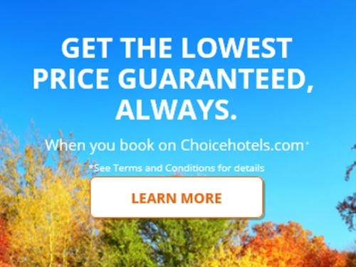 CHOICE PRIVILEGES® GIVES YOU THE FASTER WAY TO GET THE BEST RATE EVERY TIME YOU BOOK.